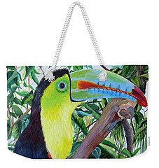 Toucan Portrait Weekender Tote Bag