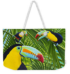 Toucan Threesome Weekender Tote Bag