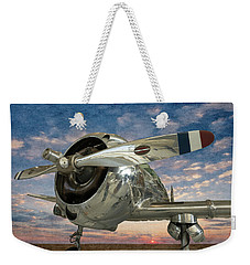 Weekender Tote Bag featuring the photograph Touch And Go II by Jeffrey Jensen