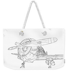Weekender Tote Bag featuring the photograph Touch And Go by Jeffrey Jensen
