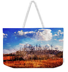 Weekender Tote Bag featuring the photograph Touch Of Autumn In The Glades by Debra and Dave Vanderlaan