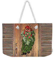Touch Of Christmas Weekender Tote Bag