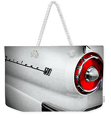 Touch Of Red Weekender Tote Bag by Nick Kloepping