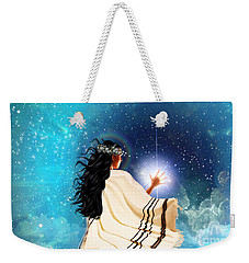 Touch The Light Weekender Tote Bag