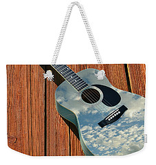 Weekender Tote Bag featuring the photograph Touch The Sky by Laura Fasulo