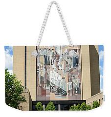 Touchdown Jesus Mural Weekender Tote Bag