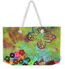 Touched By Enchantment Weekender Tote Bag by Donna Blackhall