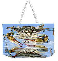 Touching Its Reflection Weekender Tote Bag