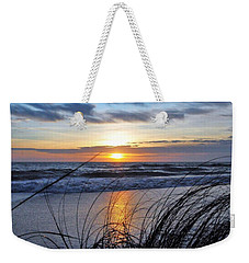Touching The Sunset Weekender Tote Bag