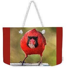 Tough Guy Cardinal Weekender Tote Bag