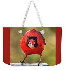 Tough Guy Cardinal Weekender Tote Bag