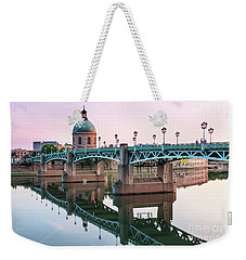 Weekender Tote Bag featuring the photograph Toulouse At Sunset by Elena Elisseeva