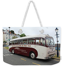 Tour Bus Weekender Tote Bag