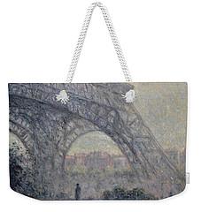 Paris , Tour De Eiffel  Weekender Tote Bag by Pierre Van Dijk