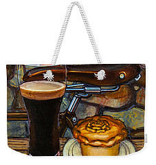 Tour De Yorkshire Pie N't Pint Weekender Tote Bag