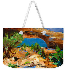 Toward The Arch  Weekender Tote Bag