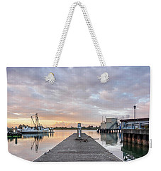 Weekender Tote Bag featuring the photograph Toward The Dusk by Greg Nyquist