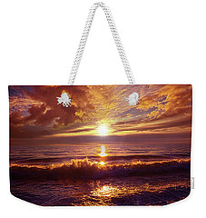 Weekender Tote Bag featuring the photograph Toward The Far Reaches by Phil Koch
