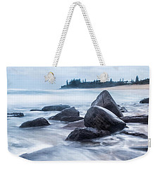 Weekender Tote Bag featuring the photograph Towards Calmer Waters by Parker Cunningham