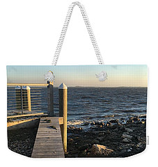 Towards The Bay Weekender Tote Bag