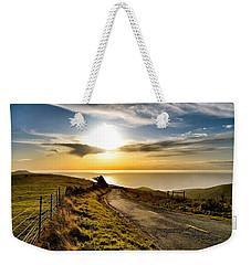 Towards The Sunset Weekender Tote Bag
