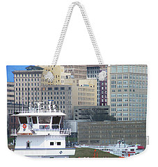Towboat Robt G Stone At Memphis Tn Weekender Tote Bag