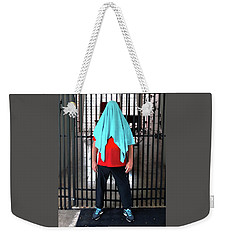 Towel Off Weekender Tote Bag by Steve Sperry