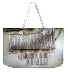 Towels And Sheets Weekender Tote Bag
