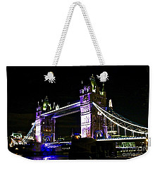 Tower At Night Weekender Tote Bag