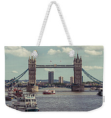 Tower Bridge B Weekender Tote Bag