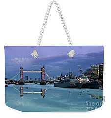 Tower Bridge Delight Weekender Tote Bag