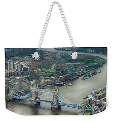 Tower Bridge In London Weekender Tote Bag