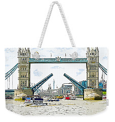 Tower Bridge London England Weekender Tote Bag