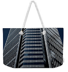 Weekender Tote Bag featuring the photograph Tower by Eric Christopher Jackson