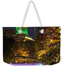 Tower Life Riverwalk Christmas Weekender Tote Bag