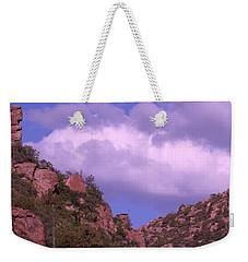 Tower Mountain Weekender Tote Bag