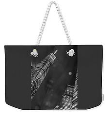 Tower Nights Weekender Tote Bag