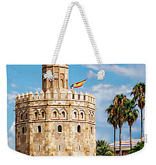 Tower Of Gold Weekender Tote Bag