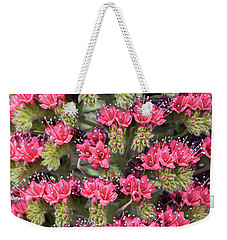 Weekender Tote Bag featuring the photograph Tower Of Jewels by Tim Gainey