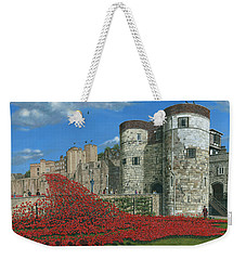 Tower Of London Poppies - Blood Swept Lands And Seas Of Red  Weekender Tote Bag