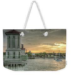 Tower Sunset Weekender Tote Bag