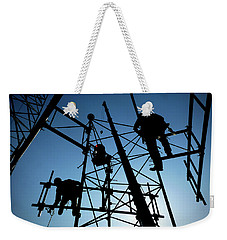 Tower Tech Weekender Tote Bag by Robert Geary