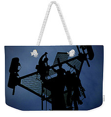 Tower Top Weekender Tote Bag by Robert Geary