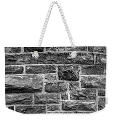 Tower Wall Black And White Weekender Tote Bag