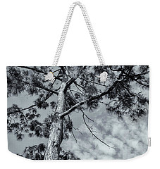 Weekender Tote Bag featuring the photograph Towering by Linda Lees