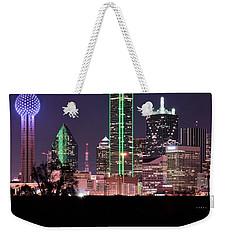 Towering Over Dallas Weekender Tote Bag