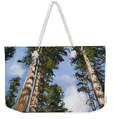 Towering Sequoias Weekender Tote Bag