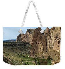 Towering Smith Rocks Weekender Tote Bag