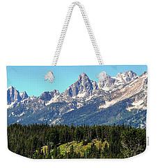 Towering Teton Range  Weekender Tote Bag