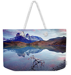 Towers Of The Andes Weekender Tote Bag by Phyllis Peterson